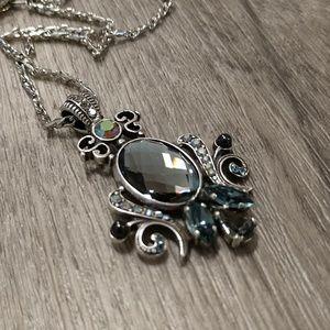 Mariana Art Deco Pendant Necklace